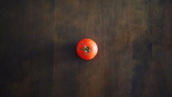 Фото бесплатно помидор, красный, хвостик
