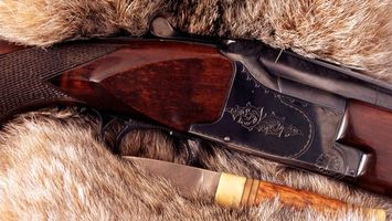 Бесплатные фото ружье, цевье, узор, нож, рукоять, мех, оружие