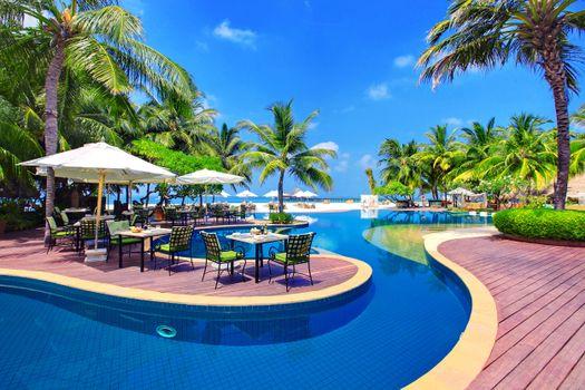 Фото бесплатно тропики, море, курорт