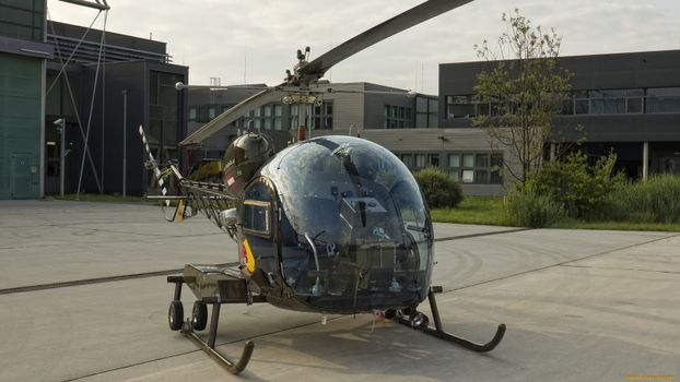 Фото бесплатно вертолет, кабина стекло, прозрачное
