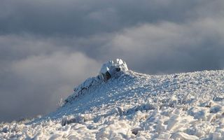 Фото бесплатно зима, гора, камни