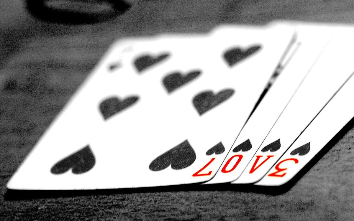 Фото бесплатно карты, пика, покер - на рабочий стол