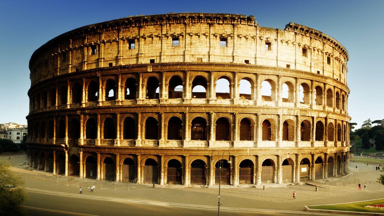 Фото бесплатно колизей, амфитеатр, арена, рим, дорога, люди, стиль, стиль