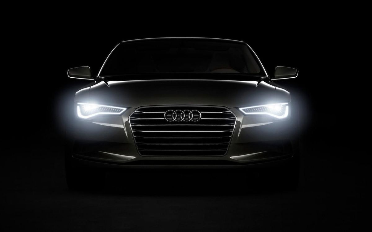 Free photo audi, black, background - to desktop
