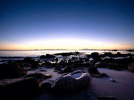 Заставки море,океан,вода,камни,небо,горизонт,лето