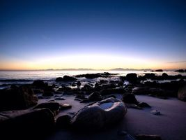 Фото бесплатно вода, океан, горизонт
