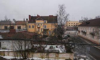 Бесплатные фото Приозерск,площадь,дома,осень,снег
