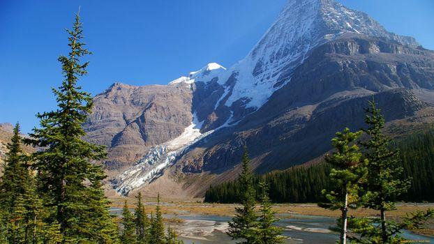 Заставки вода, горы, небо