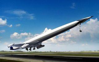 Фото бесплатно самолет, взлет, хвост