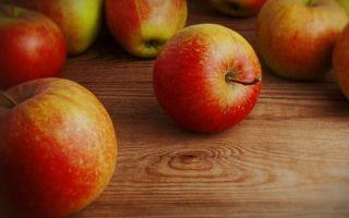 Фото бесплатно яблоки, фрукты, хвостик