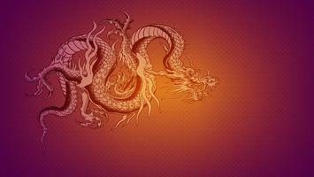 Бесплатные фото дракон,рисованный,когти,пасть,разное