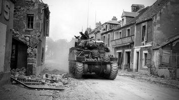 Бесплатные фото танк,войны,дома,руины,разное