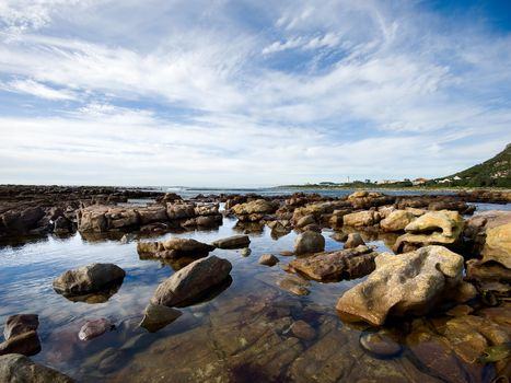 Фото бесплатно берег, океан, камни