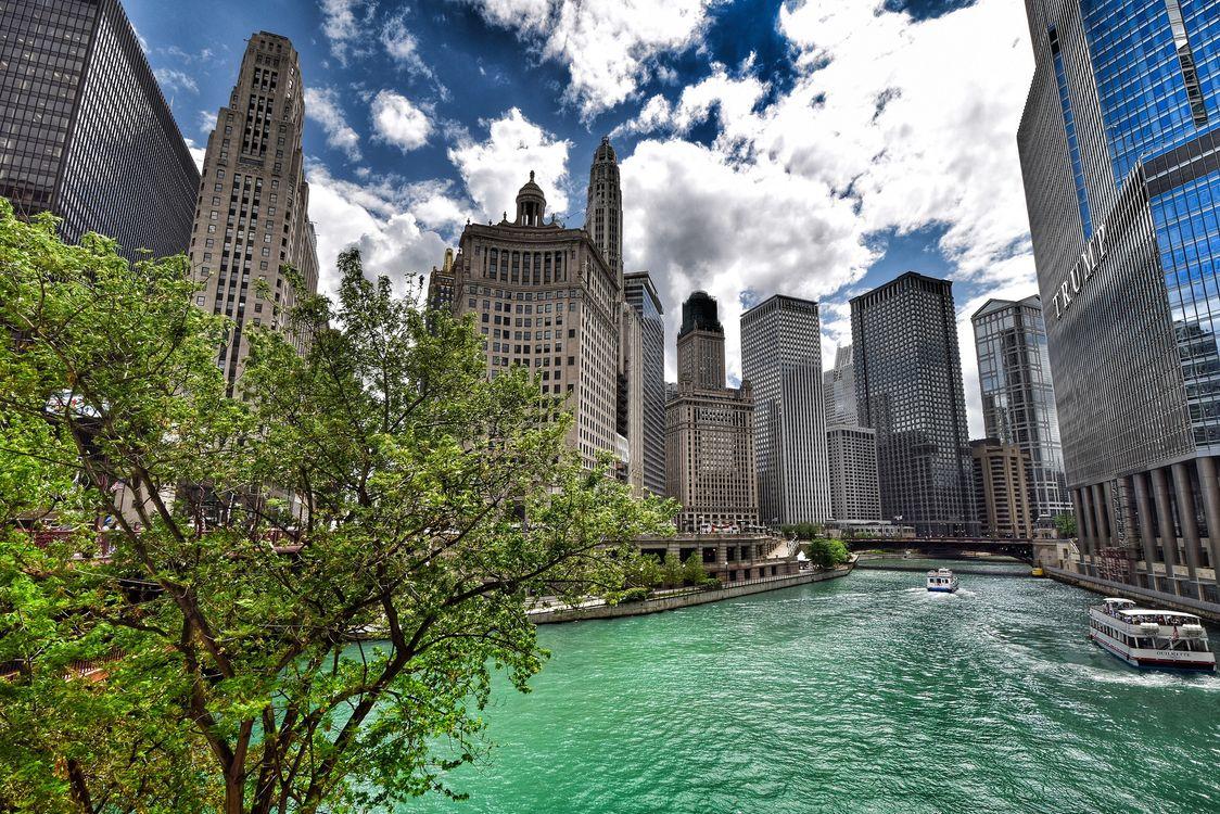 Фото бесплатно Chicago, Чикаго, США, город
