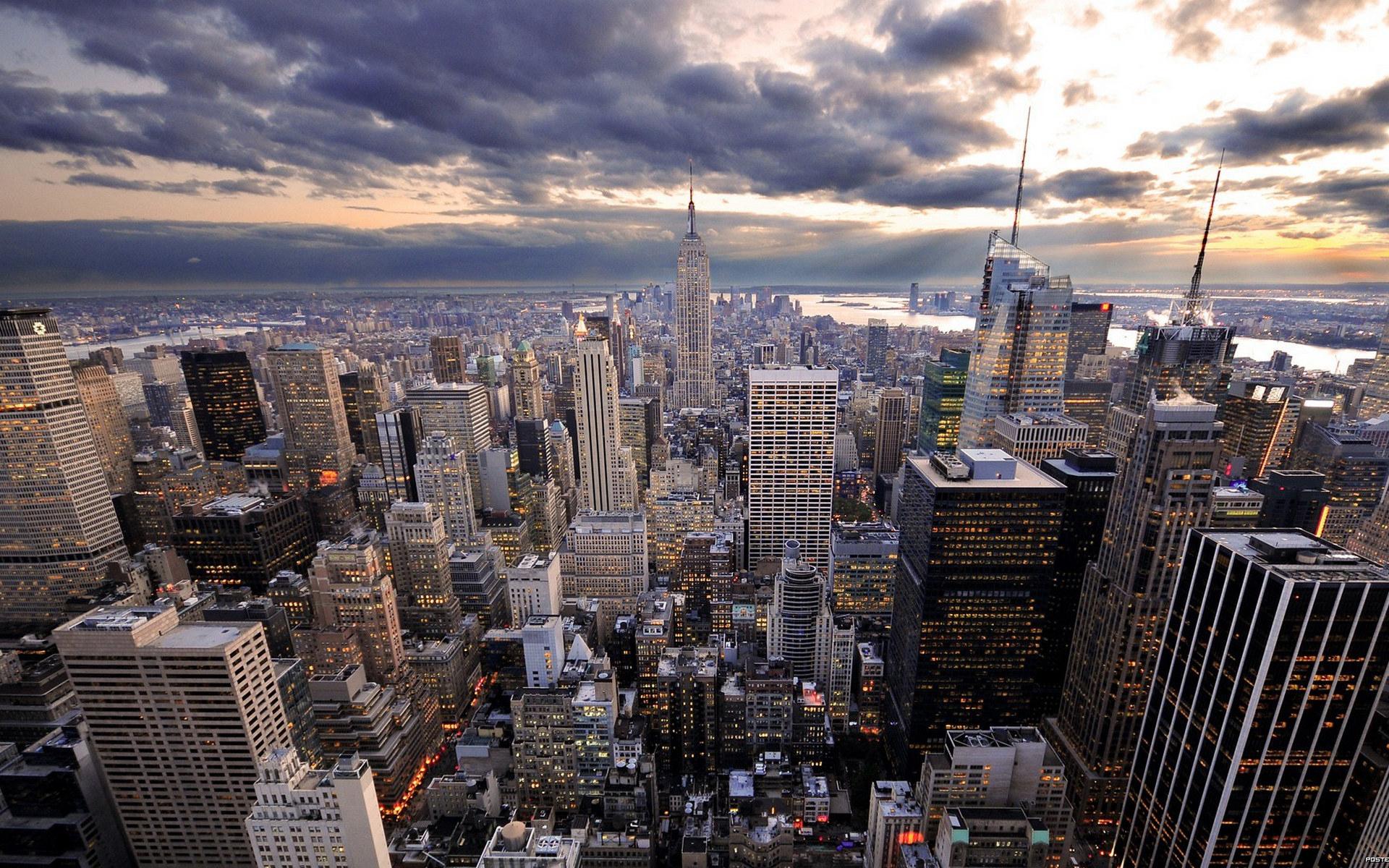 Обои дома, высотки, небоскребы, улицы