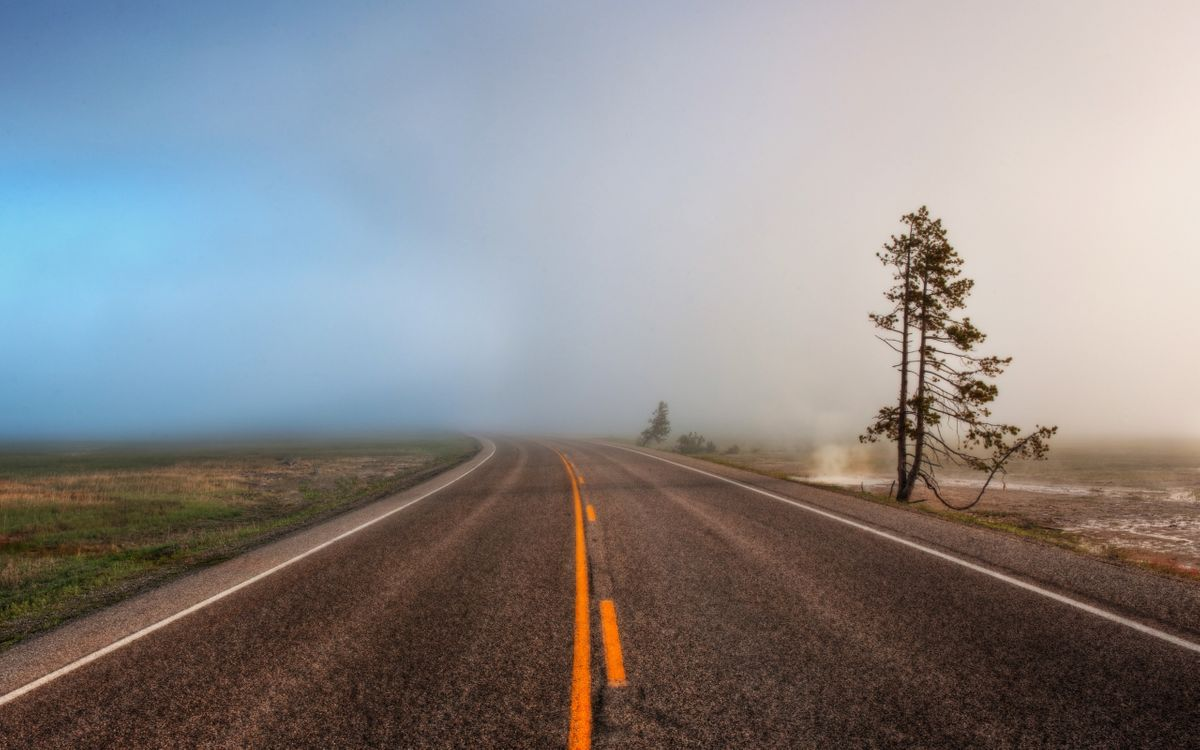 Фото бесплатно дорога, трасса, шоссе - на рабочий стол