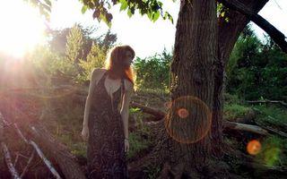 Фото бесплатно девушка, природа, фотосет