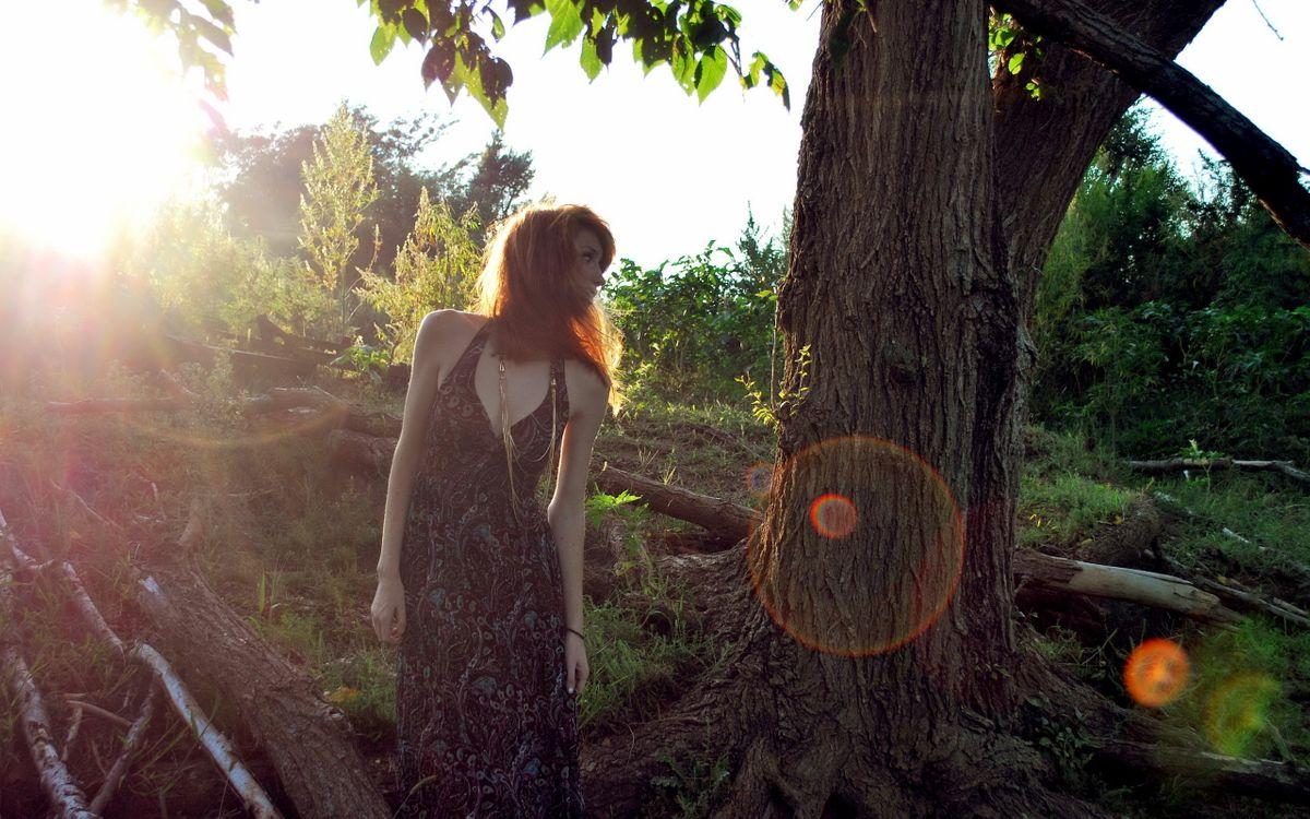 Фото бесплатно девушка, природа, фотосет - на рабочий стол