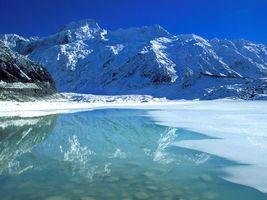 Фото бесплатно снег, небо, синий