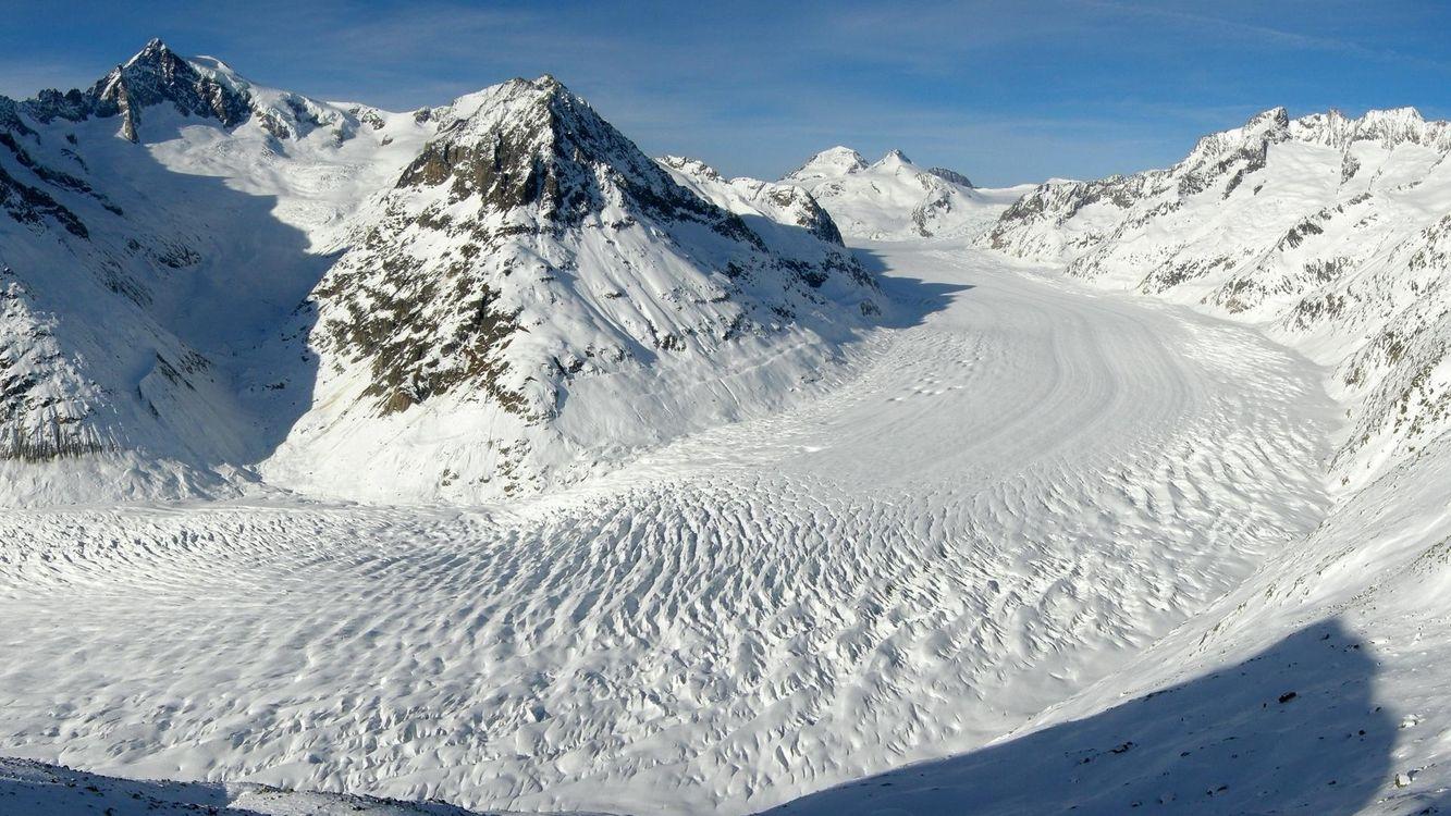 Фото бесплатно горы, дорога, снег, сугробы, небо, день, ясно, скалы, природа, пейзажи, пейзажи