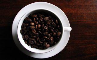 Фото бесплатно кофе, кружка, белая