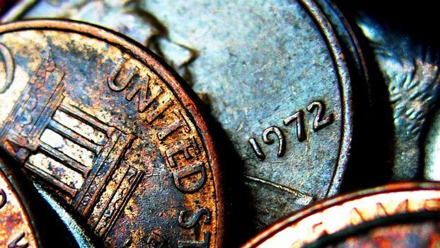 Заставки монеты, старинные, красивые, несколько, ржавчина, время, разное