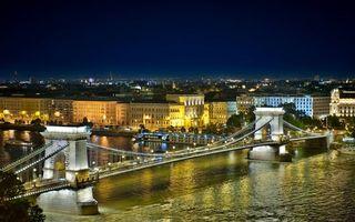 Фото бесплатно мост, вода, небо
