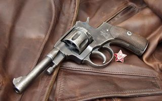 Photo free pistol, revolver, trigger