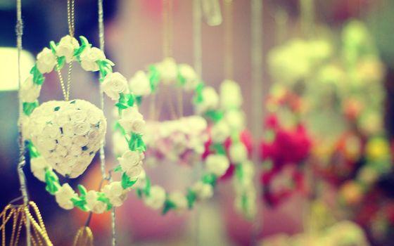 Фото бесплатно цветок, венки, свадьба