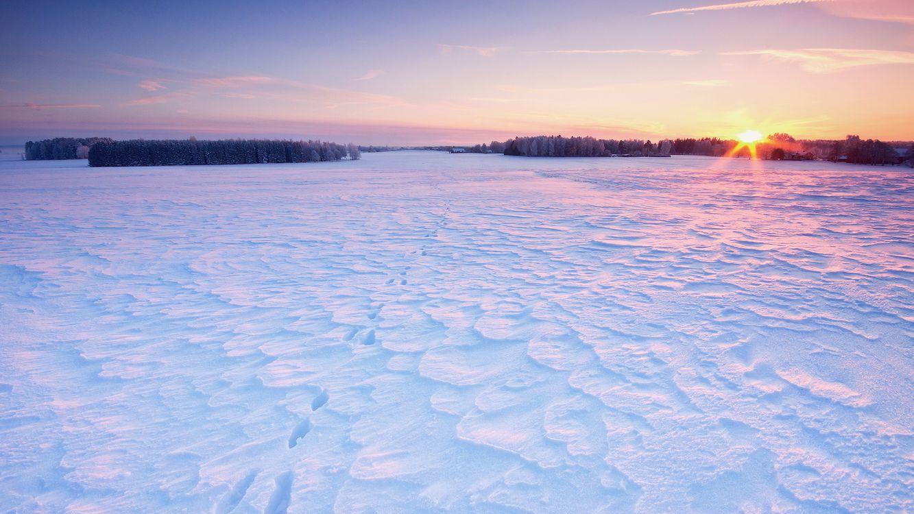 Фото бесплатно зима, снег, сугробы - на рабочий стол