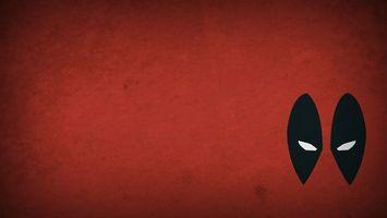 Бесплатные фото маска,черная,белые глаза,красный фон,рисованная,минимализм