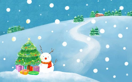 screensavers christmas treewinternew yearsnowholidaysnowmandrawing