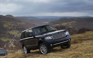 Photo free range rover, black, car