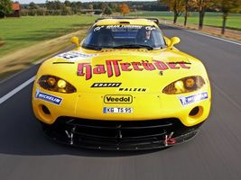Фото бесплатно dodge viper, желтый, спорт
