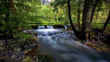 Бесплатные фото речка, водопад, ручей, камни, природа