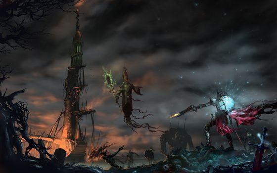 Photo free battle, darkness, fantasy