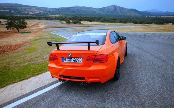 Бесплатные фото бмв,оранжевый,bmw,автомобиль,m3,gts,трасса,скорость,поездка,машины
