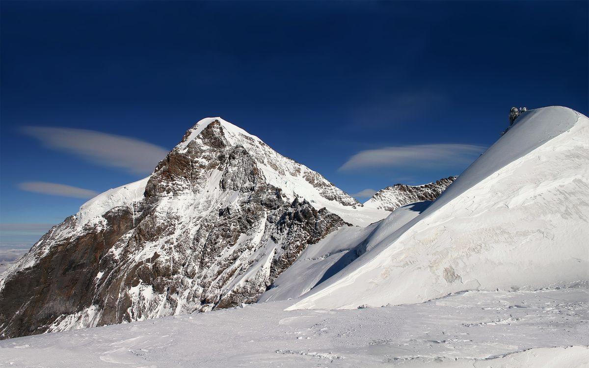 Фото бесплатно горы, заставки, снег - на рабочий стол