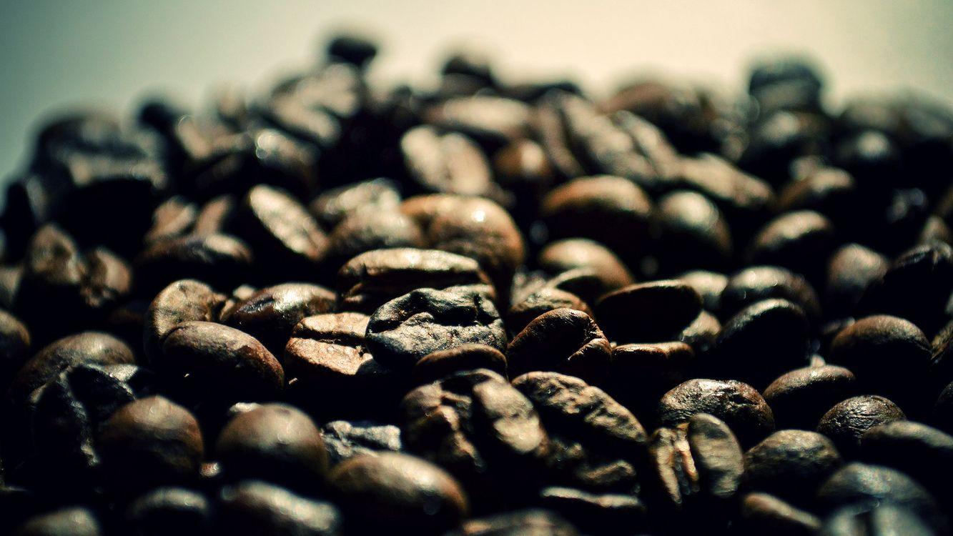 Фото бесплатно кофе, зерна, ягоды - на рабочий стол