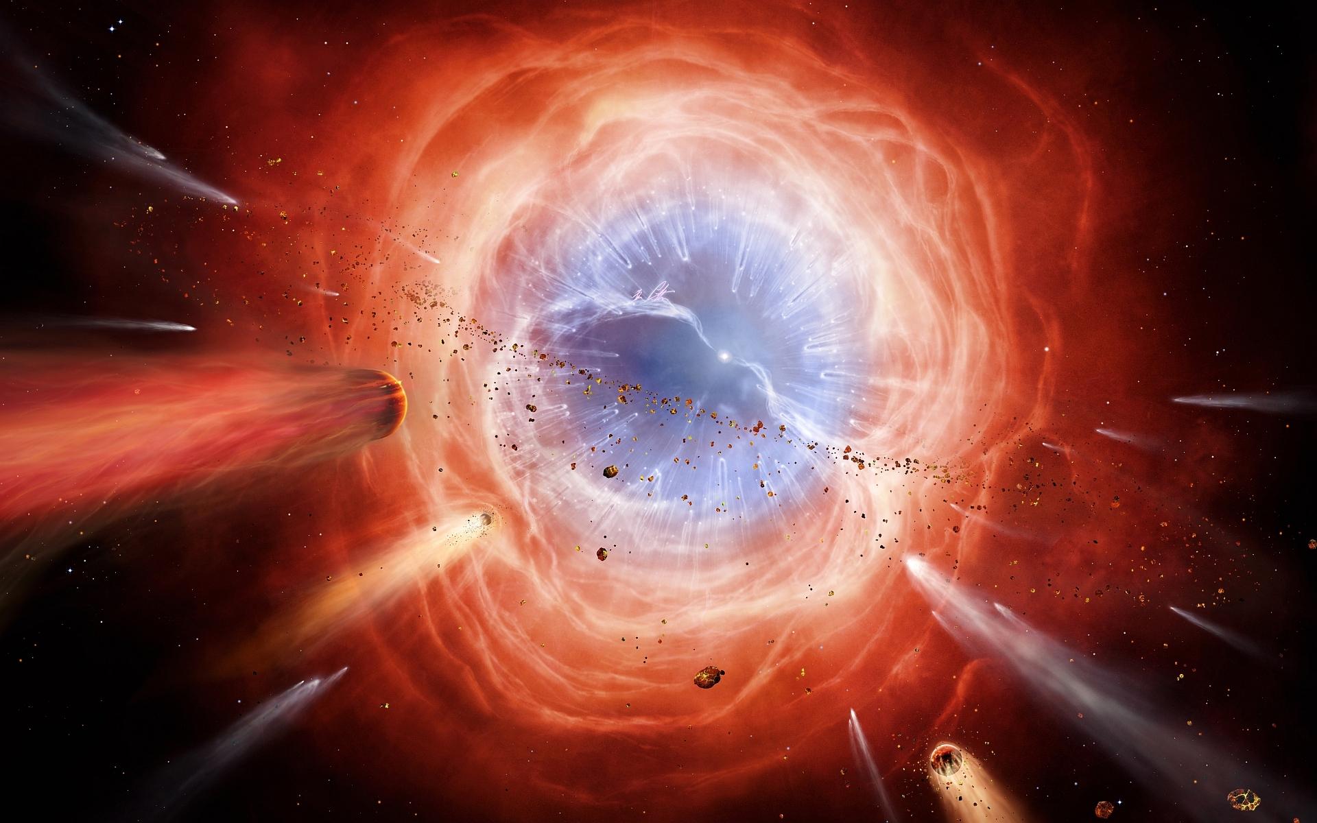Зарождение вселенной картинки