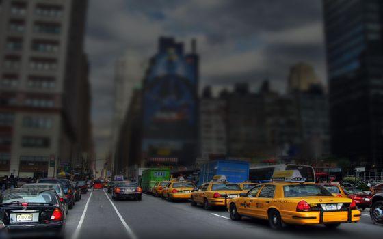 Бесплатные фото машины,авто,пробка,дорога,улица,проезжая часть,дома,высотки,такси,город