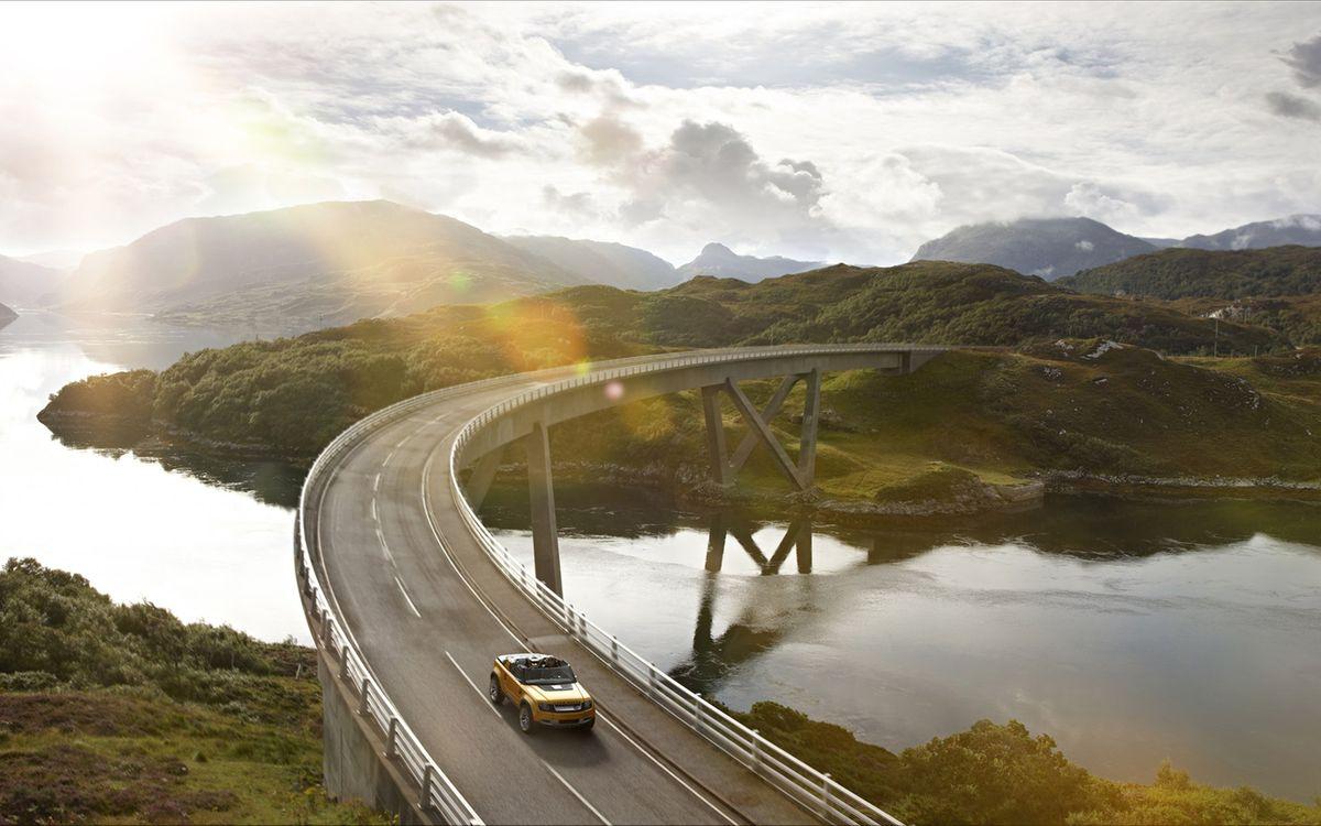 Картинки мост и дорогами