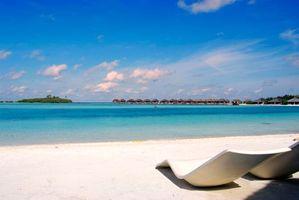 Фото бесплатно пейзажи, мальдивы, пляж
