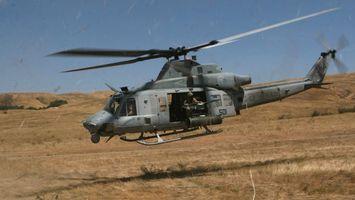 Фото бесплатно вертолет, лопасти, кабина