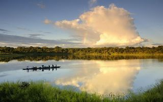 Бесплатные фото вода, река, озеро, небо, облока, деревья, лес