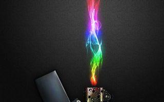 Бесплатные фото зажигалка,крышка,пламя,цветное,фон,черный