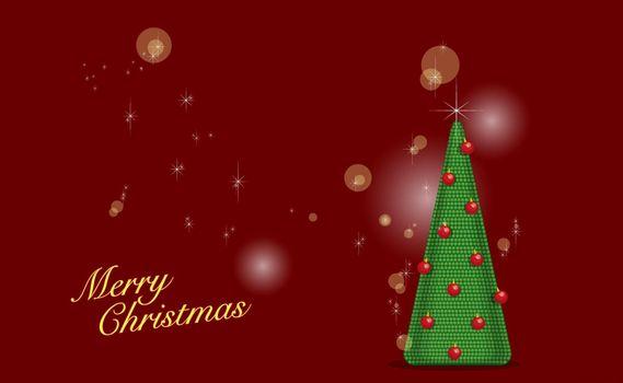 Бесплатные фото заставка,елка,фон,красный,звезды,поздравление,шарики,надпись,рождество,новый год,настроения,праздники