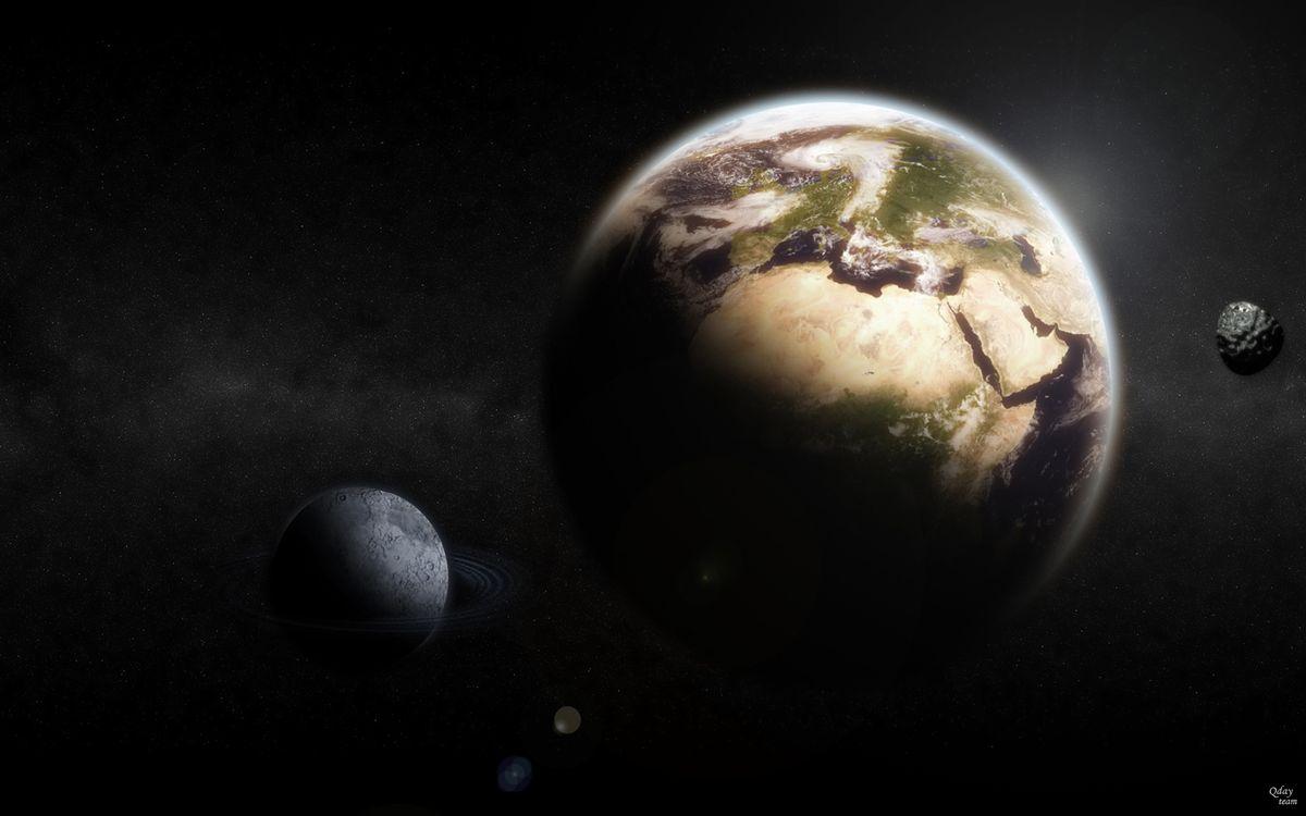 Фото бесплатно континенты, созвездия, планеты - на рабочий стол