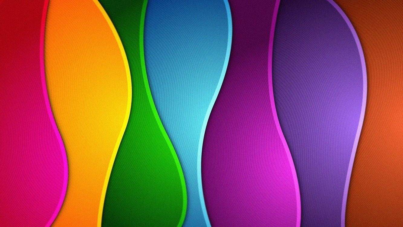 Фото бесплатно абстракции, линии, полоски, наполнитель, разноцветный, фон, разное