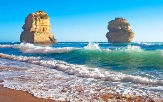 Фото бесплатно австралия, море, пляж